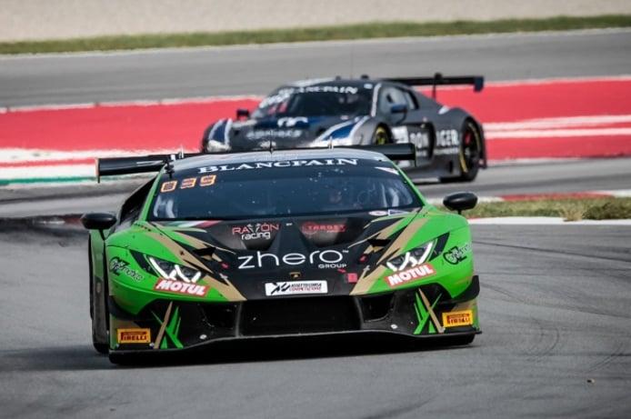 El Lamborghini #29 de Toni Forné lidera el 'Bronce Test' de Barcelona