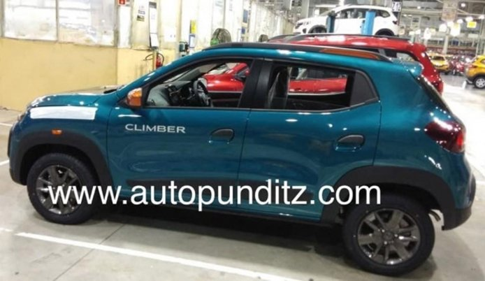 Renault Kwid 2020 - foto espía lateral