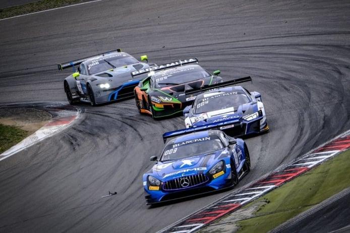 El título de la Blancpain GT World Challenge Europe llega vivo a Hungría