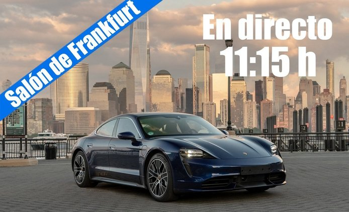 En directo: las novedades de Porsche desde Frankfurt 2019