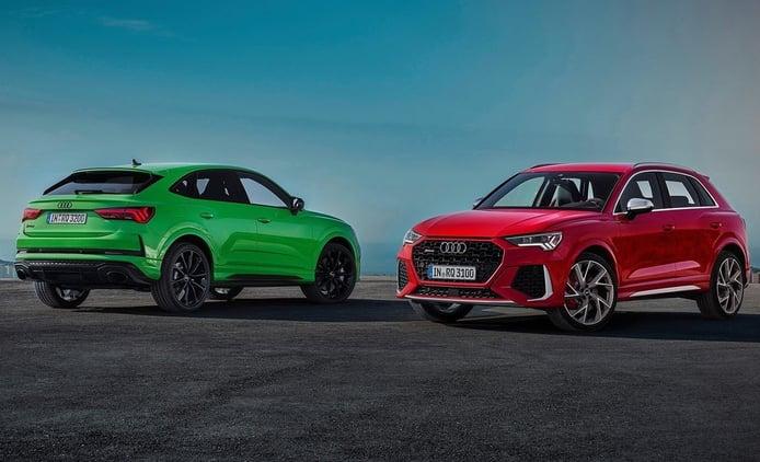 Los nuevos Audi RS Q3 y Audi RS Q3 Sportback ya tienen precio en España