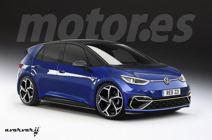 Recreación del Volkswagen ID.3 R 2024