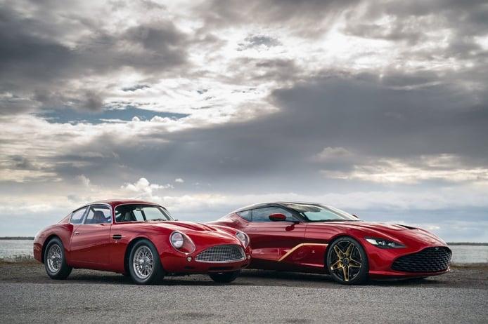 Aston Martin desvela oficialmente el nuevo DBS GT Zagato de 770 CV