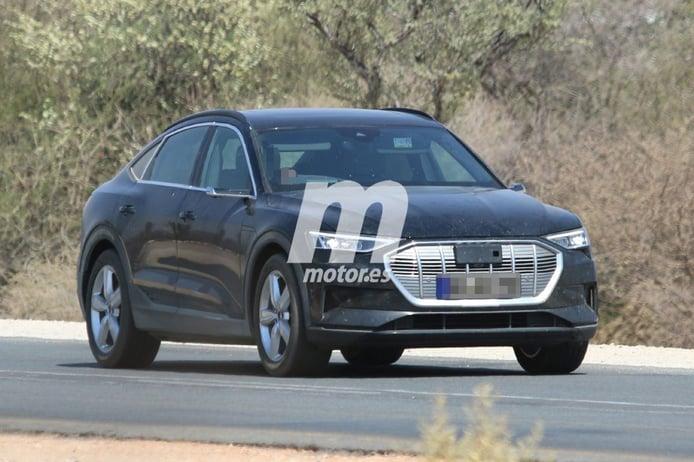 El nuevo Audi e-tron Sportback se desnuda del camuflaje en sus últimas fotos espía