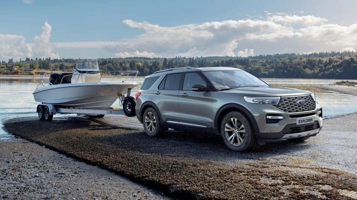 El nuevo Ford Explorer Híbrido Enchufable ya está a la venta en Alemania