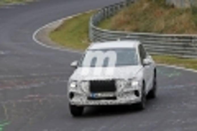 El nuevo Genesis GV70 avanza en su desarrollo llegando a Nürburgring