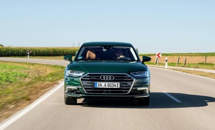 Audi A8 L 60 TFSI e quattro - frontal