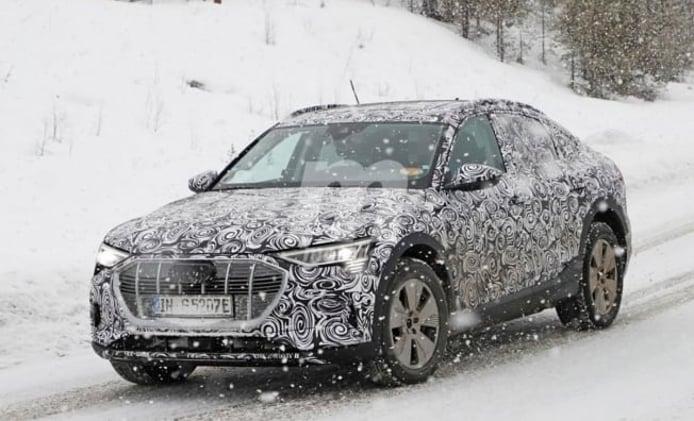 Audi e-tron Sportback - foto espía