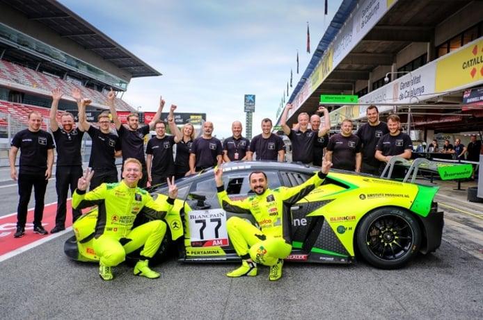 Barwell Motorsport renueva su apuesta por la Blancpain Endurance Cup