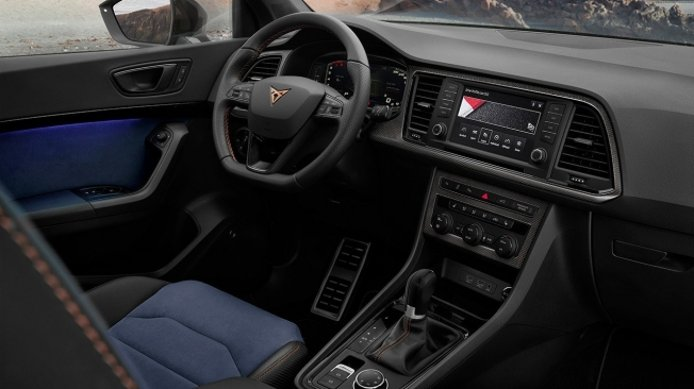 CUPRA Ateca Limited Edition - interior