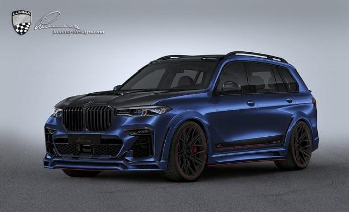 BMW X7 preparado por Lumma Design