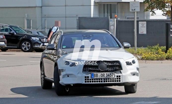 Mercedes Clase E All-Terrain 2020 - foto espía frontal