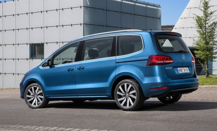 Volkswagen Sharan - posterior
