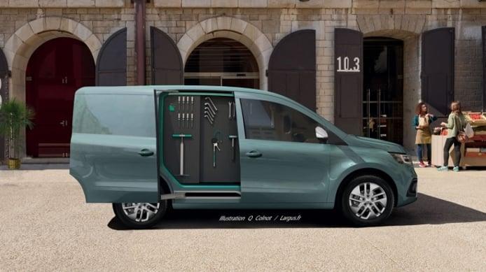 Recreación del Renault Kangoo 2021