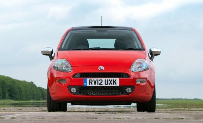 Fiat Punto - frontal
