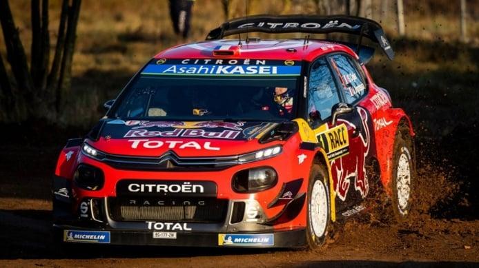 Sordo empieza de líder en el Rally RACC, Ogier se 'desangra'
