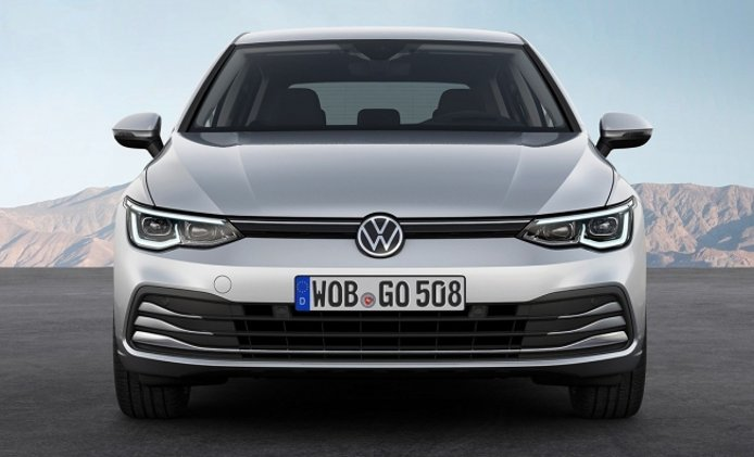 Volkswagen Golf 2020 - frontal