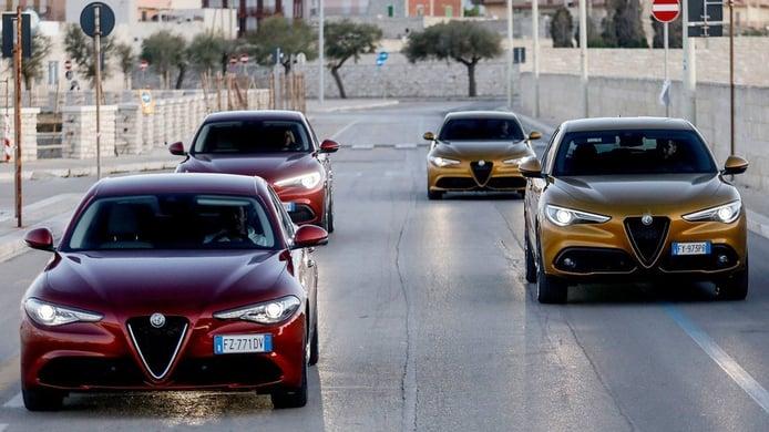 Alfa Romeo continúa mejorando su producto
