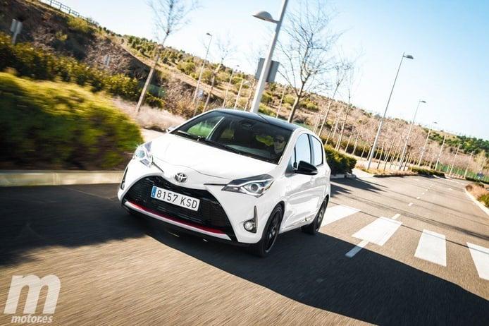 Italia - Octubre 2019: El Toyota Yaris sigue escalando puestos