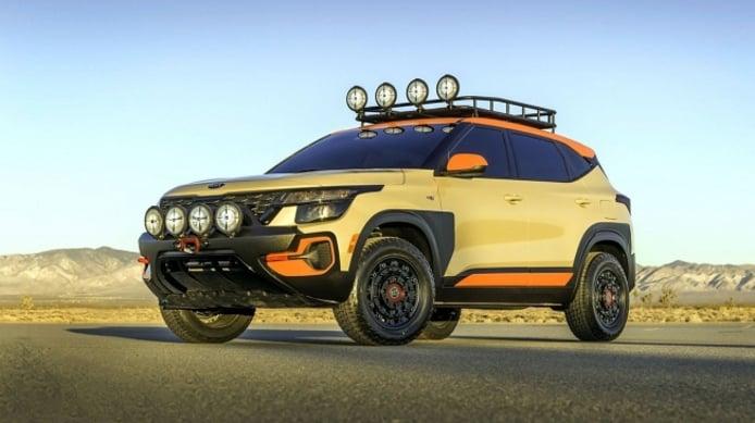 Kia Seltos X-Line Trail Attack Concept