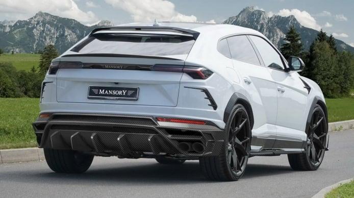 Lamborghini Urus preparado por Mansory