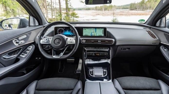 Mercedes EQC - interior