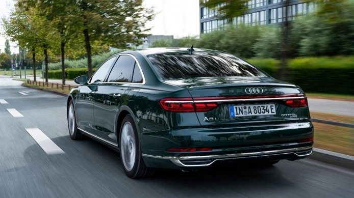 Audi A8 L 60 TFSI e quattro - posterior
