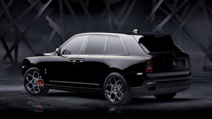 Rolls-Royce Cullinan Black Badge - posterior