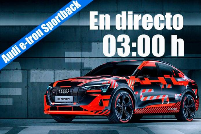 Sigue en directo la presentación del nuevo Audi e-tron Sportback