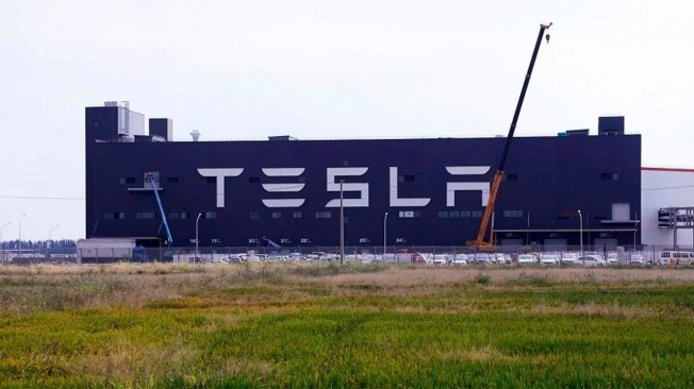 Gigafactoría de Tesla en China