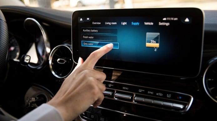 Mercedes Clase V - interior