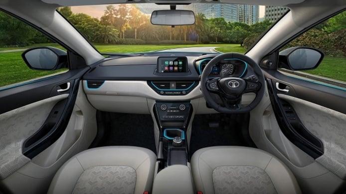 Tata Nexon EV - interior