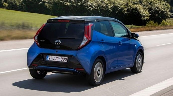 Toyota Aygo - posterior
