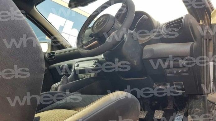Toyota GR Yaris - foto espía interior