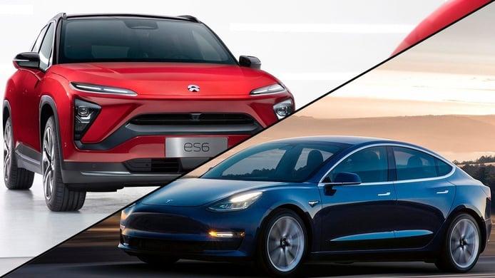 Nio se prepara para rivalizar cara a cara con Tesla
