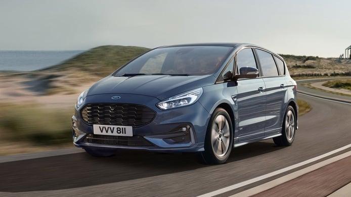 Ford anuncia la versión híbrida para el S-Max y el Galaxy, llegarán en 2021