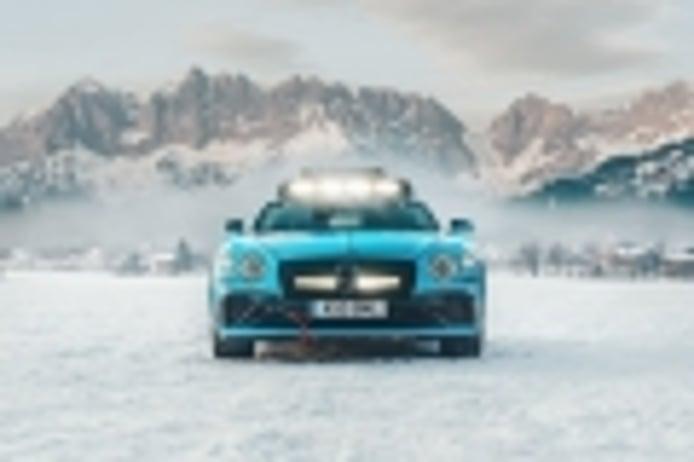Bentley Continental GT GP Ice Race, preparado para volar sobre el hielo