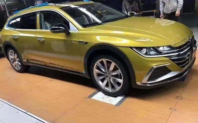 Una filtración descubre al nuevo Volkswagen Arteon Shooting Brake