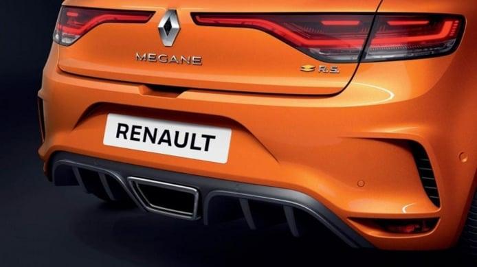 Renault Mégane RS - posterior