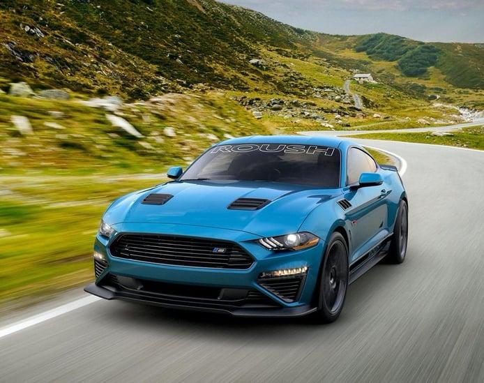 Roush presenta una actualización para el Mustang Stage 2 2020