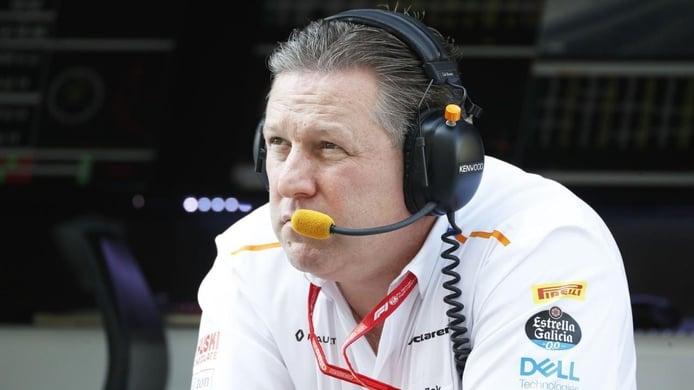 Brown explica la situación de McLaren tras el positivo por coronavirus