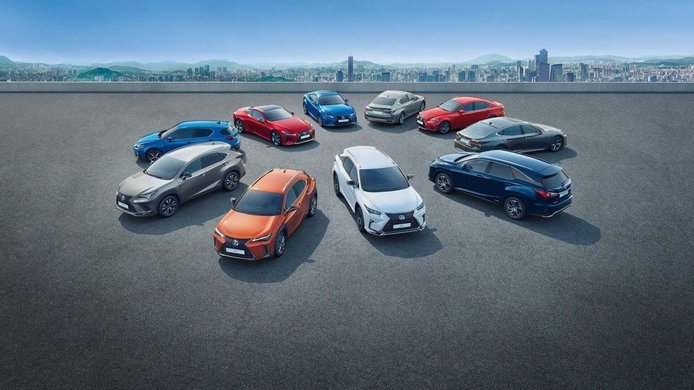 Al descubierto en una nueva filtración todos los futuros modelos de Lexus hasta 2023