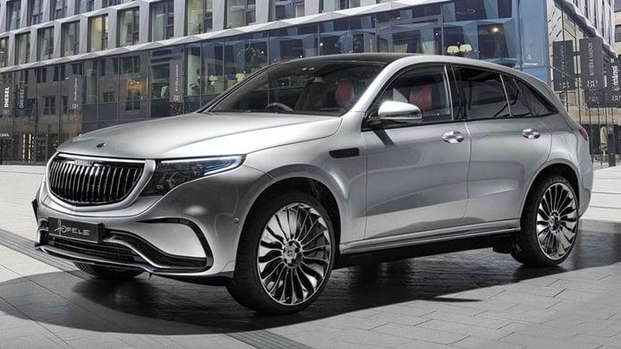 Hofele-Design se atreve con el Mercedes EQC, un SUV eléctrico