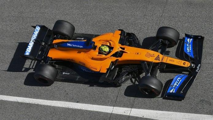 Key, optimista con el McLaren MCL35: «Hay bastante potencial y vienen más piezas»