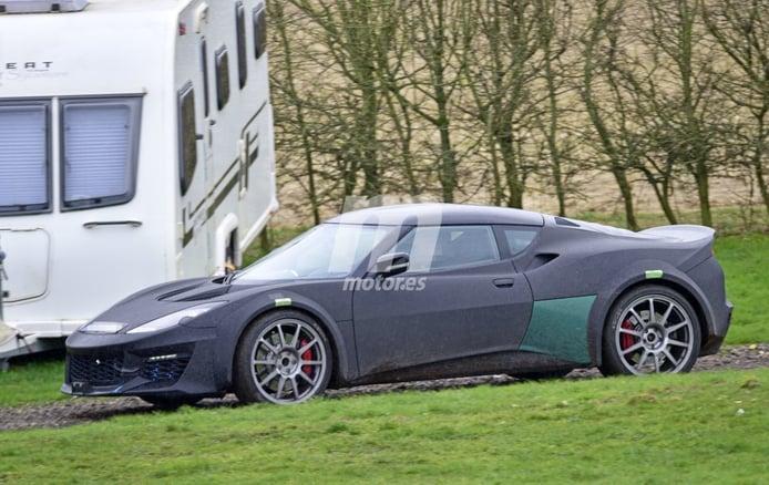 Primeras imágenes del sucesor del Lotus Esprit, el nuevo Lotus híbrido