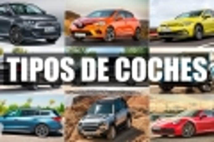 Tipos de coches, aprende a identificarlos y a distinguirlos