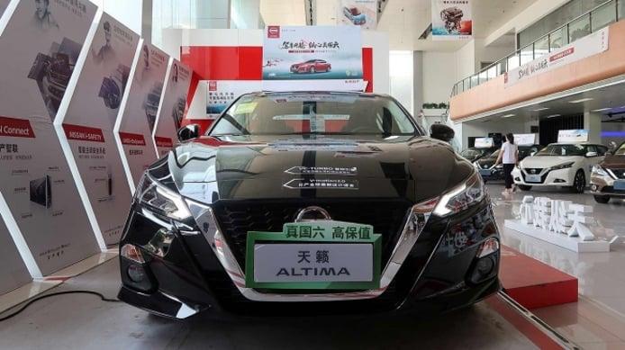 Concesionario de Nissan en China
