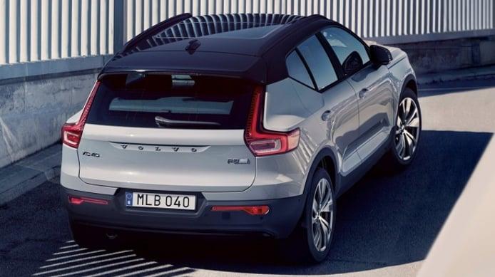 Volvo XC40 Recharge - posterior