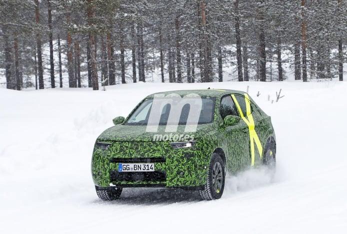 La nueva generación del Opel Mokka, cazada en sus primeras fotos espía