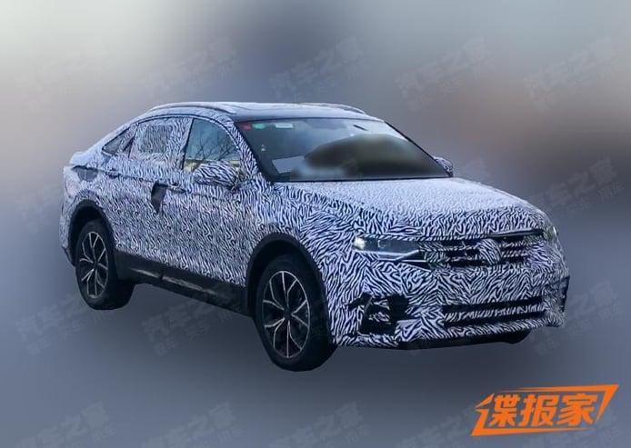 La versión de producción del Volkswagen SUV Coupé se deja ver en la calle